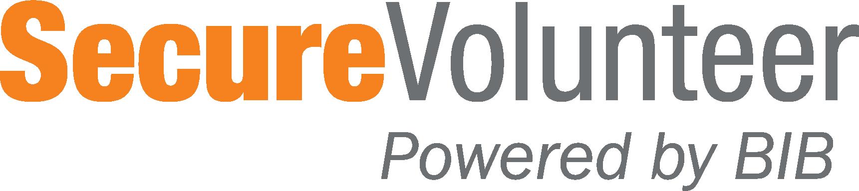 secure volunteer logo png